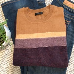 J. CREW 🍂 Fall Color Block Sweater